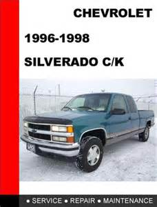 2006 silverado 2500hd factory service manual chevy and
