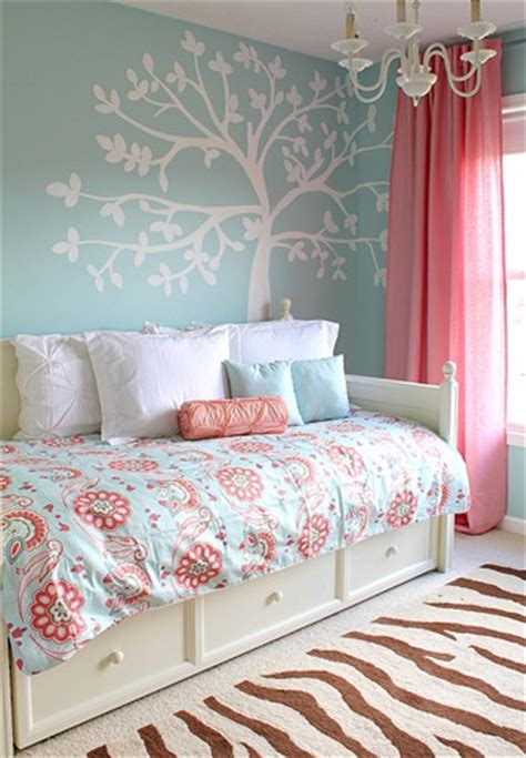 blue and pink girls bedroom my daughter s room updated yes again in aqua blue