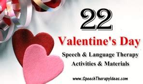 s day speech activities themes and sets speech therapy ideas