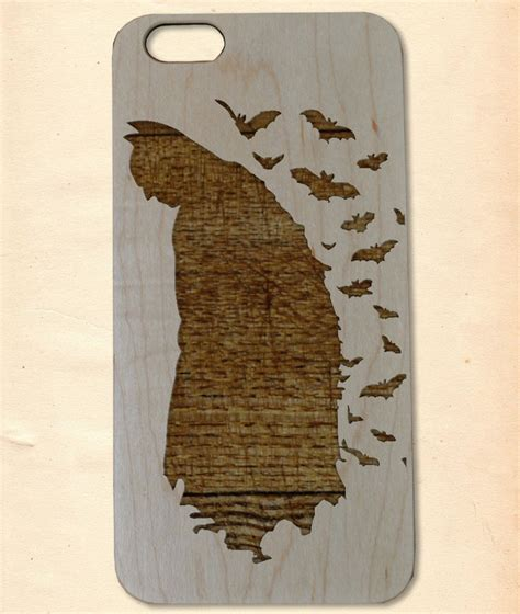 Handmade Wooden Iphone Cases - batman handmade wooden cover for iphone 6