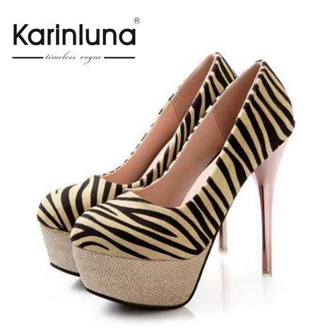 zebra high heels popular zebra print high heels buy cheap zebra print high