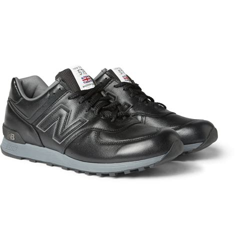 new balance leather sneakers hrgne9rt cheap new balance black leather sneakers