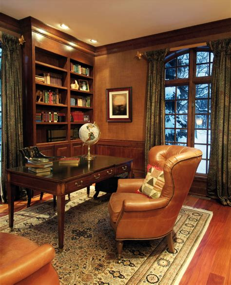 Office Curtains Ideas The Gentleman S Room Creating A Masculine Aesthetic Central Virginia Home Magazine