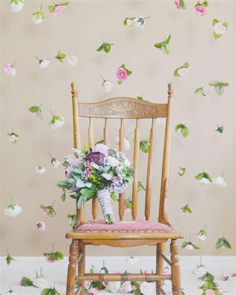 silk flower curtain 30 creative diy spring wedding decor ideas praise wedding