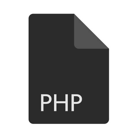 format file php extension file format php icon icon search engine
