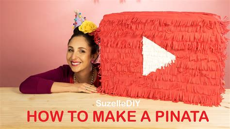 How To Make A Paper Pinata - suzelle diy celebrates and shows you how to make a pinata