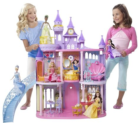barbie princess doll house princess doll house disney princess ultimate dream castle gifts pinterest