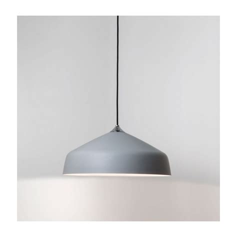 astro lighting ginestra metal ceiling pendant light grey