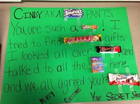 secret ideas work one of my secret santa gifts for a coworker merry ho ho