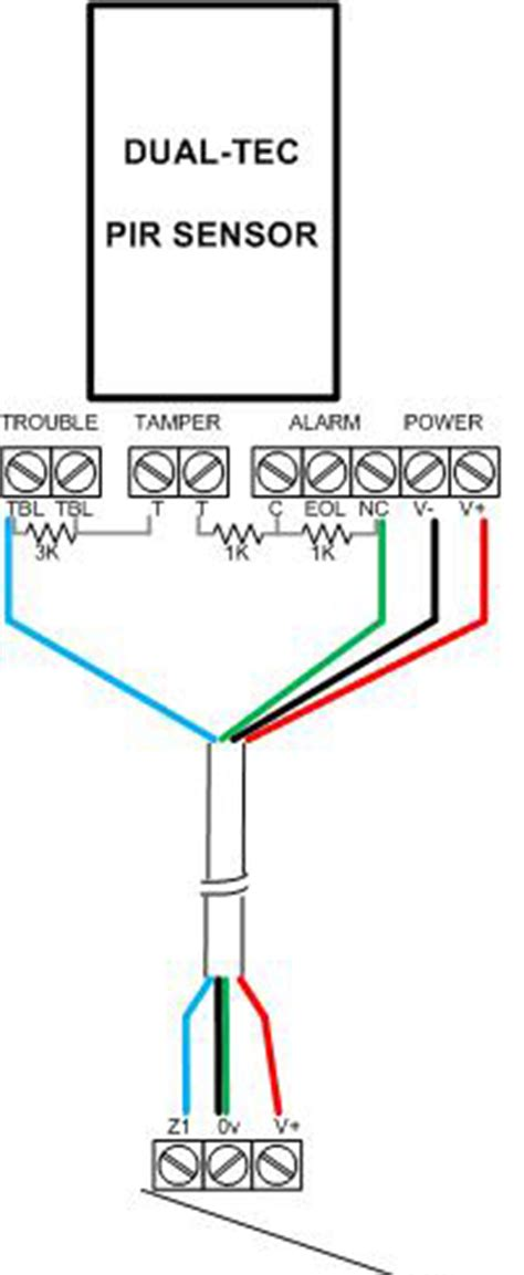 honeywell pir sensor wiring diagram 35 wiring diagram
