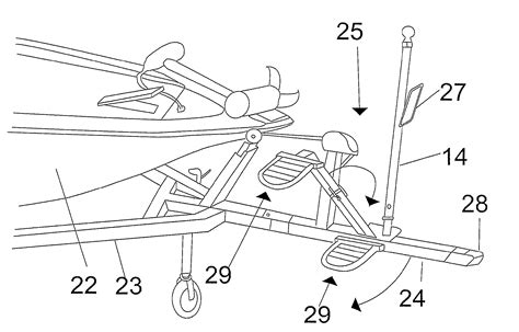 how to draw a boat on a trailer patent us8322739 boat trailer step assist google patents