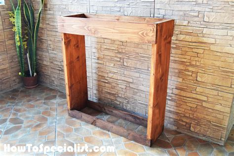 Build A Wood Storage Rack by How To Build An Indoor Firewood Rack Howtospecialist