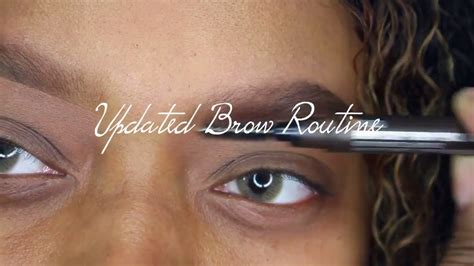 eyebrow tutorial instagram updated eyebrow routine instagram eyebrows tutorial