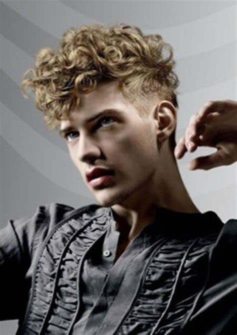 very short sides long and curly on top top 5 curly hairstyles for men