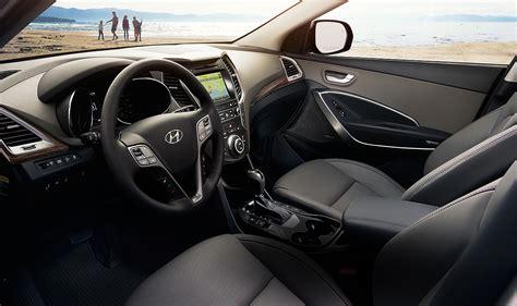 Hyundai Santa Interior by 2017 Hyundai Santa Fe Safety Test Results Carbuzz Info