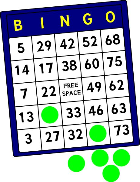 bingo card template png bingo card clip at clker vector clip