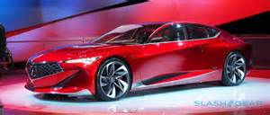 Acura Concept Cars Acura Precision Concept Revealed To Give Luxe Rebirth