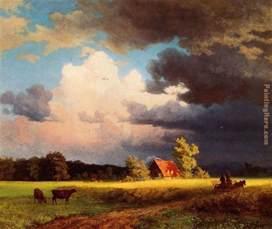 albert bierstadt bavarian landscape painting anysize 50