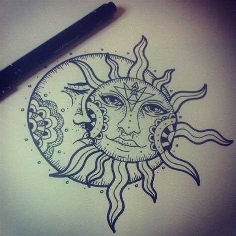 sun moon star tattoo designs 25 best ideas about sacred geometry on