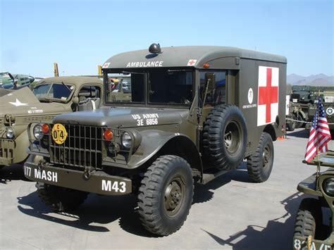 mash jeep dodge m43 ambulance 3 4 ton other than the neatly