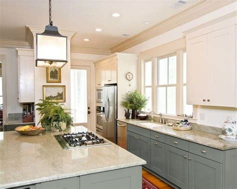 two color kitchen cabinet ideas can you paint kitchen cabinets two colors in a small