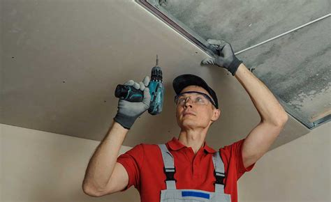 how to fit a plasterboard ceiling homebuilding renovating