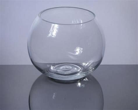 Glass Bowl Vases Wholesale by Pzf605 Bowl Glass Vase 6 Quot X 5 Quot 12 P C Glass