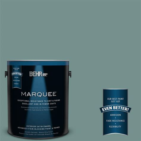 behr marquee 1 gal ppu12 3 dragonfly satin enamel exterior paint 945301 the home depot