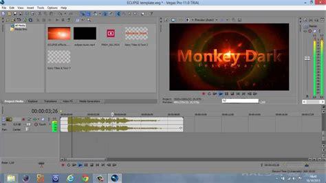 tutorial sony vegas pro 11 intro tutorial como criar uma intro legal no sony vegas pro 11