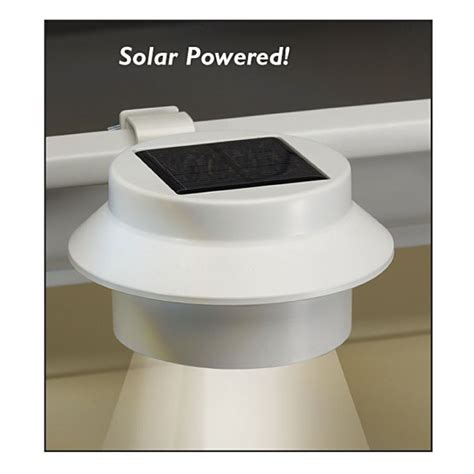 solar powered gutter lights 1000 images about outdoor garage lighting on