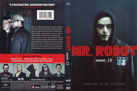 Cover Mr 2 mr robot season 2 0 dvd cover cover addict dvd and