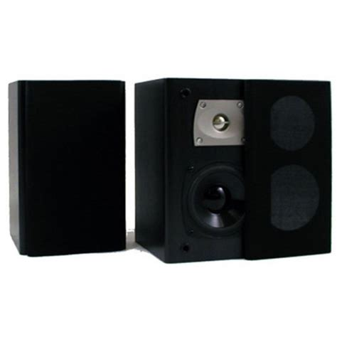 theater solutions b1 bookshelf speakers black