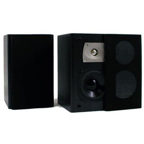 theater solutions b1 bookshelf speakers black