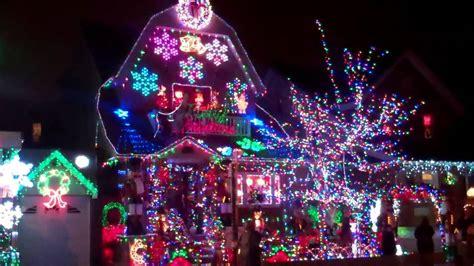 bensonhurst christmas lights 2011 youtube