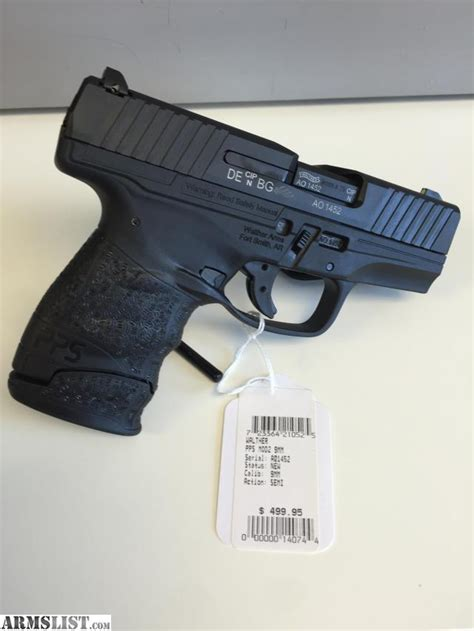 Pps Background Check Armslist For Sale Walther Pps Mod 2 9mm