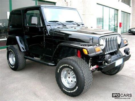 Jeep Tj Specs 2000 Jeep Wrangler Tj 4000 Biggfoot Gomme 33 Car Photo