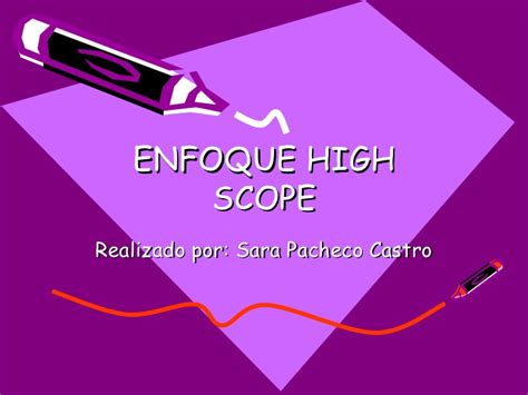 Modelo Curriculum High Scope Enfoque High Scope