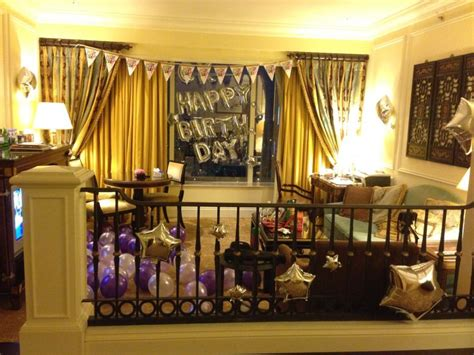 Decorating Hotel Room For Birthday by 25 Best Ideas About Hotel Birthday On