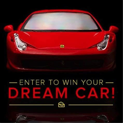 Vehicle Sweepstakes - win 50 000 for your dream car dream car sweepstakes pch blog