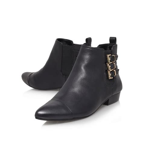 vince camuto black boots vince camuto davilla ankle boot in black lyst