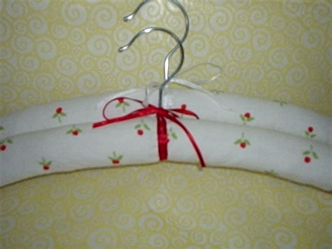 Handmade Coat Hangers - fabric padded coat hangers simple