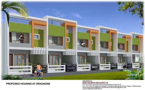 row housing samsoorya architects