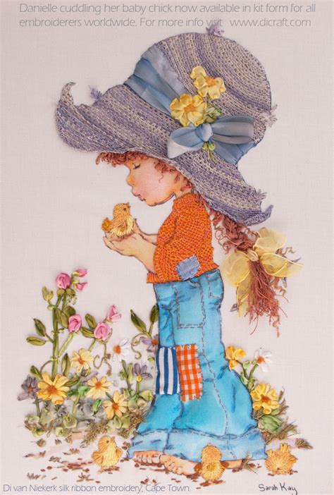 Garden Craft - sarah kay designs for silk ribbon embroidery di van niekerk