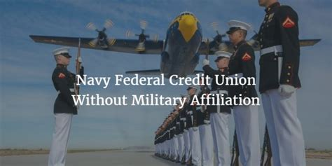 Navy Federal Credit Union Military - investingchannel joining navy federal credit union without military affiliation