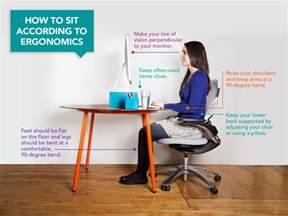 for sitting at desk here s how you should be sitting at your desk according