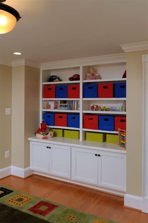 toy storage units kids traditional with basement