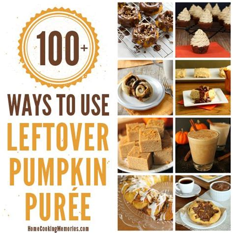 100 ways to use leftover canned pumpkin pumpkins that