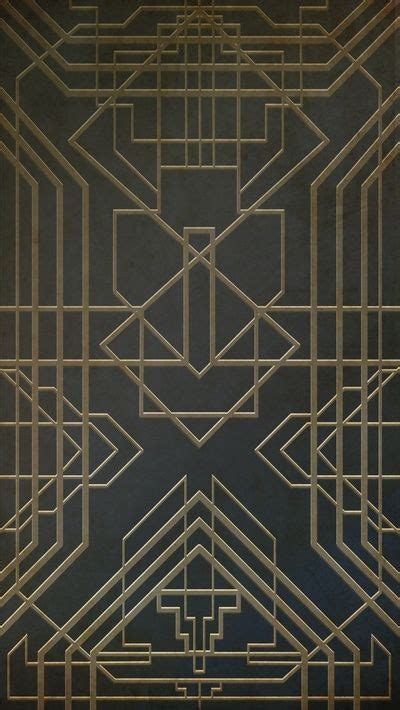 pattern line deco art deco be cool different shapes and put together