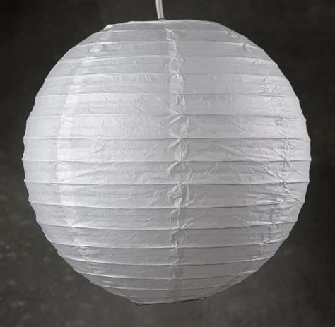 How To Make Paper Lantern Balls - 12 quot white paper lanterns pack of 10