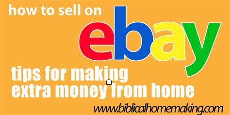 How To Sell On Ebay by How To Sell On Ebay Pricing Your Item Biblical Homemaking
